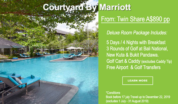 Courtyard Stay & Play Golf